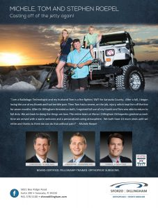 Sforzo Dillingham Orthopedics Advertising photographer Sarasota commercial photographer